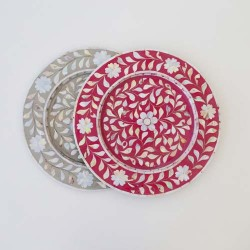 Mother of Pearl Dinner Plate Chargers
