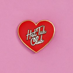 Hot Tub Club Pin
